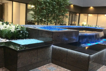 An image of Two Pershing Square's atrium